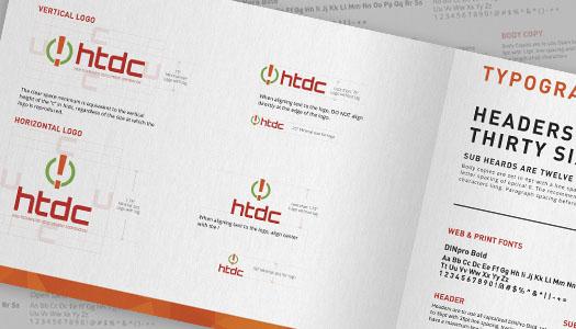 Branding and Logo Design Style Guide Sample