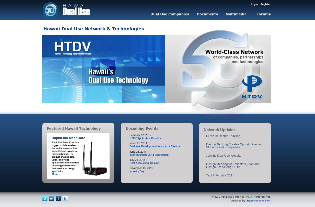HDUN Website Design