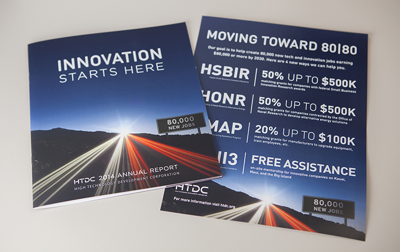 HTDC Print Design, Branding and Collateral
