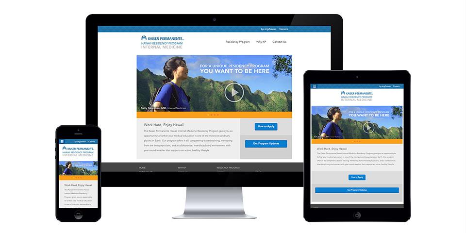 KP Residency Website Design