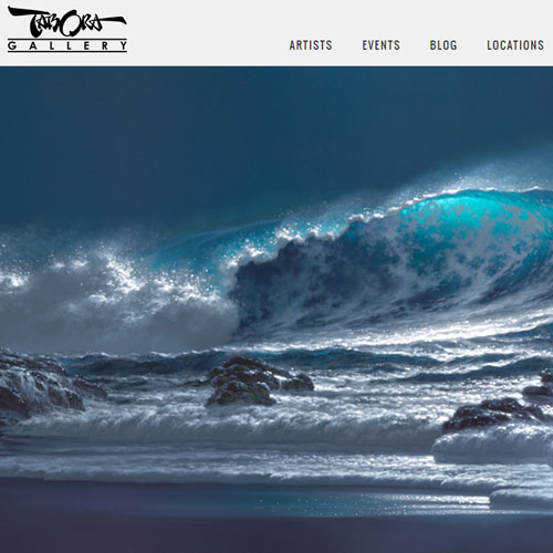 Tabora Gallery Website Development